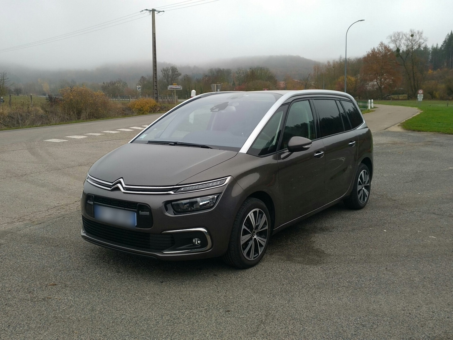 CITROEN C4 GRAND PICASSO 1.6 BLUEHDI 120 SHINE EAT BVA START-STOP - Carverntura