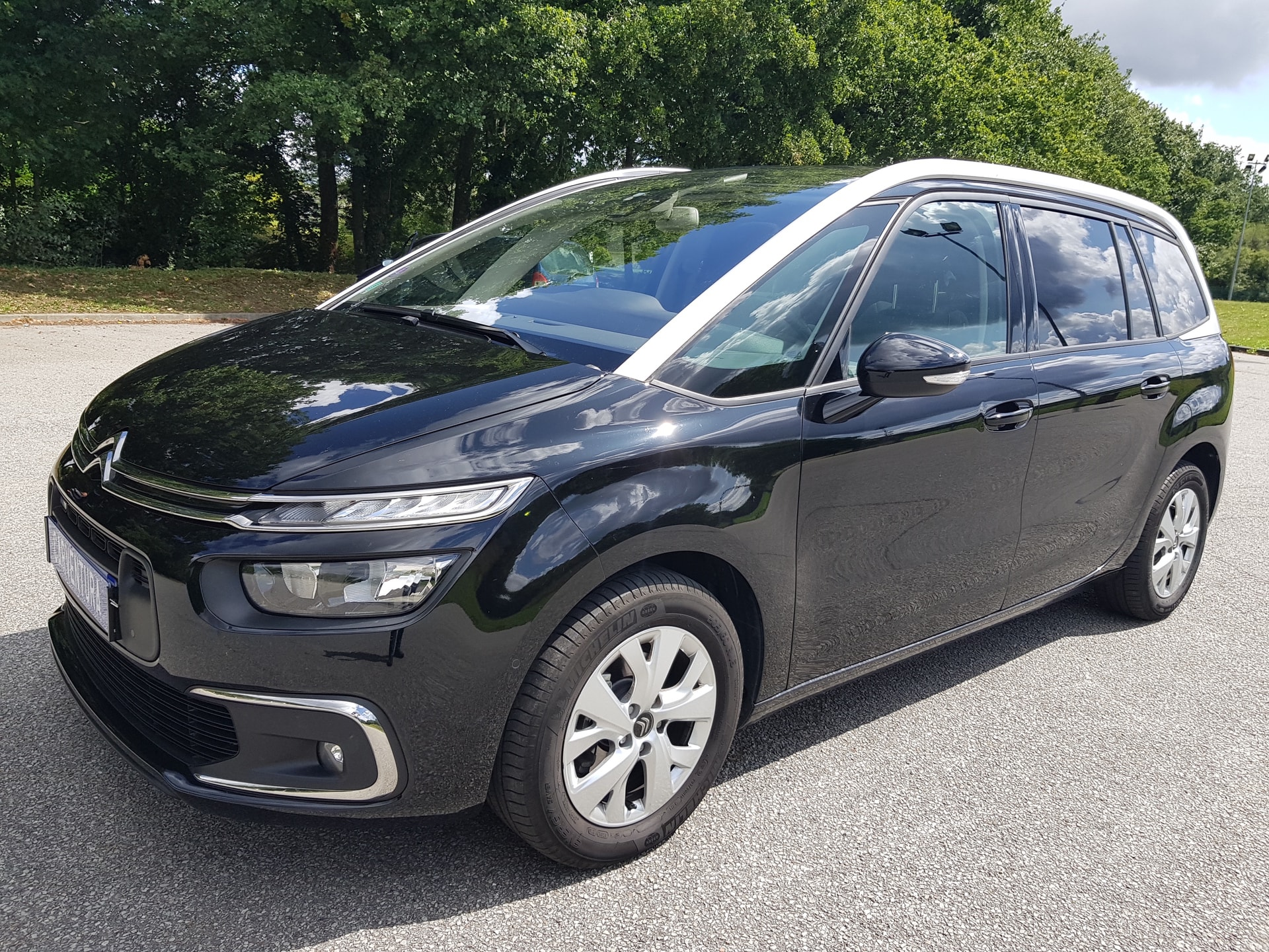 citroen c4 grand picasso 1 2 130 puretech feel start. Black Bedroom Furniture Sets. Home Design Ideas