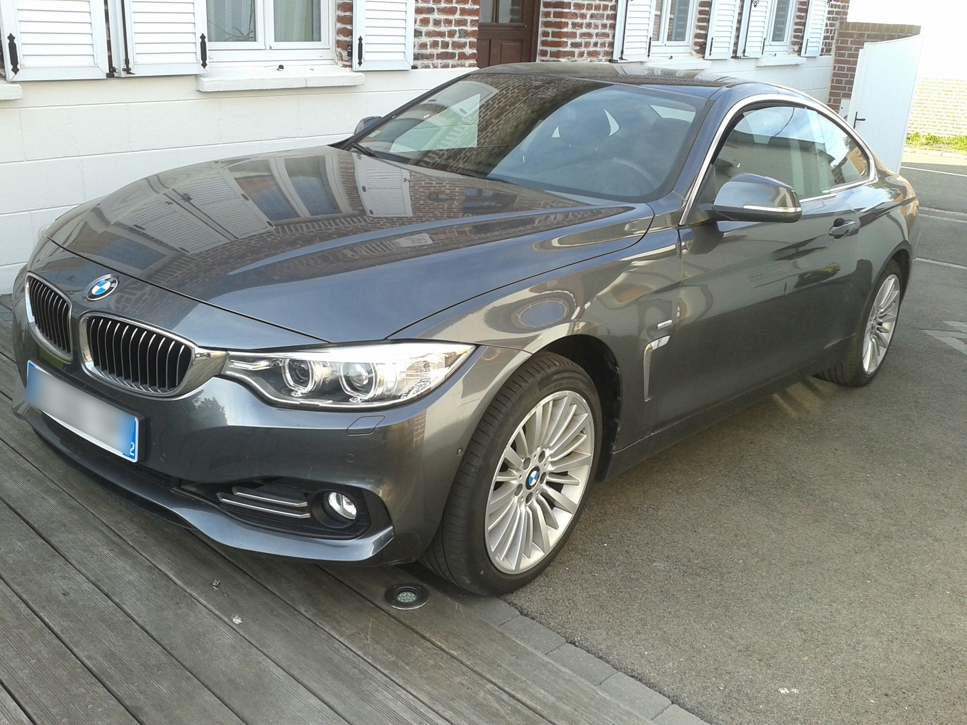 BMW SERIE 4 COUPE 430 D 260 LUXURY XDRIVE BVA - Carverntura