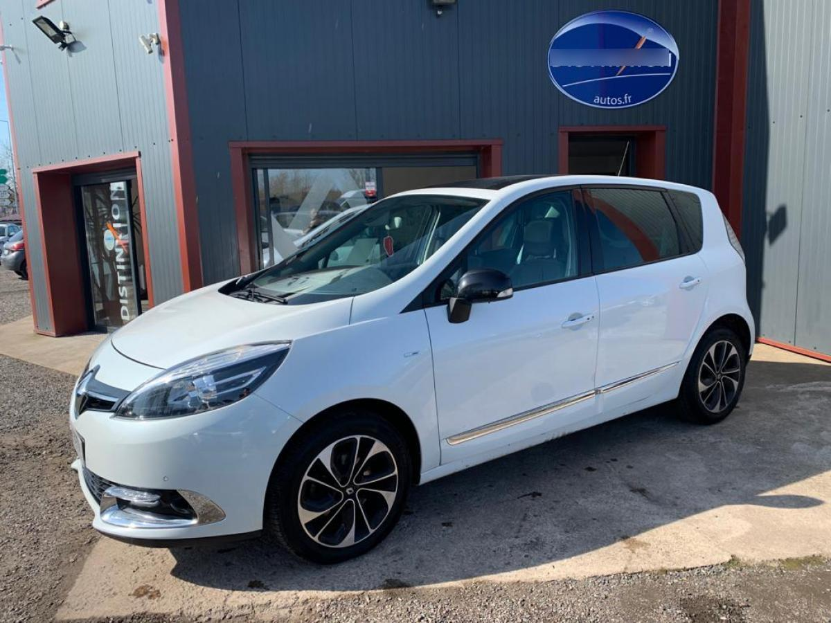 RENAULT SCENIC 1.6 DCI 130CH ENERGY BUSINESS EURO6 7 PLACES 2015
