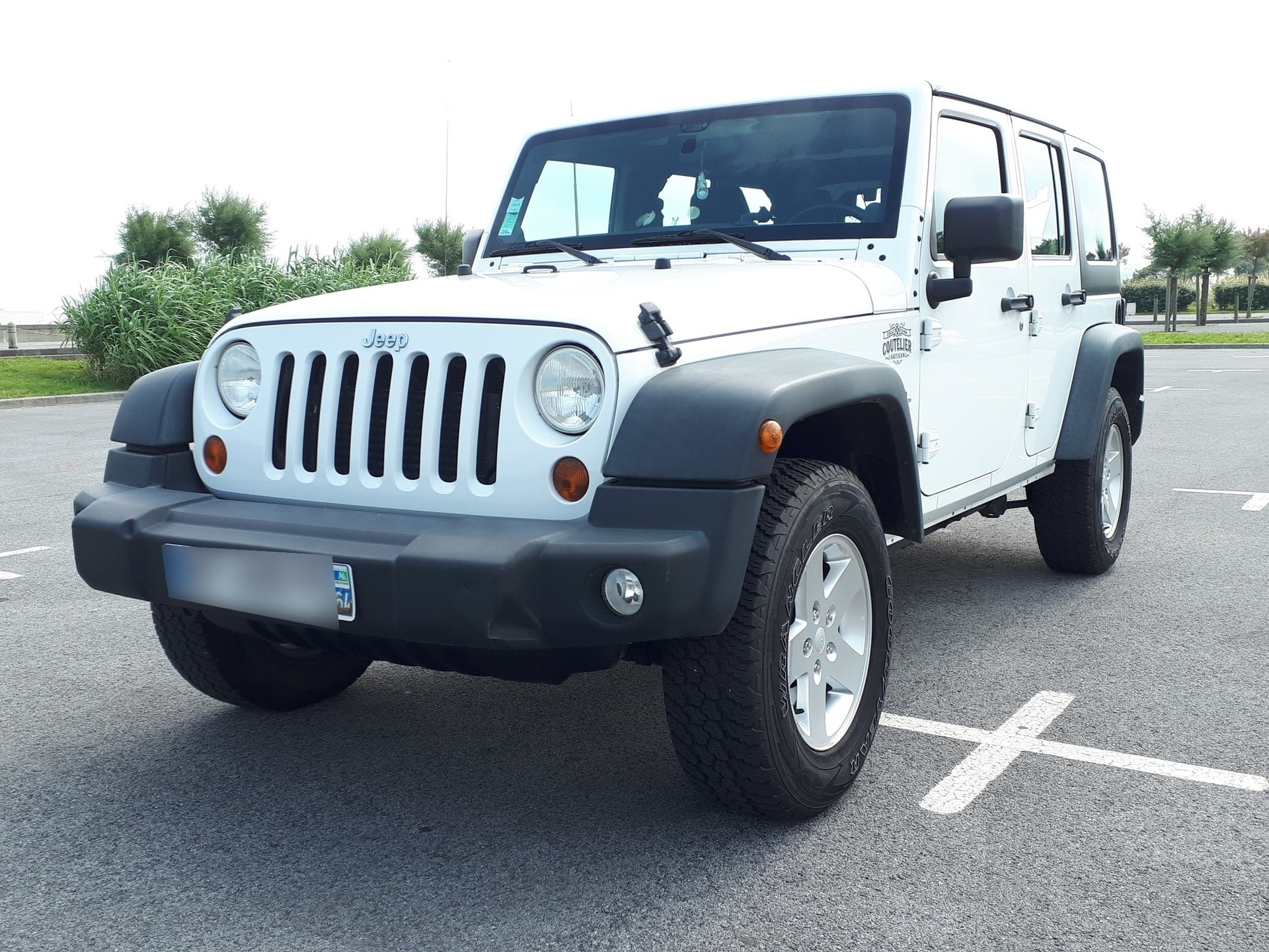 JEEP WRANGLER 2.8 CRD 200 UNLIMITED SPORT AWD - Carverntura